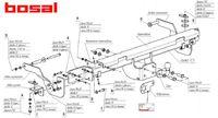 Фаркоп для Peugeot Boxer 3 (2006 -) Bosal-VFM 2634-F-BOXER