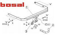 Фаркоп для Mazda 3 Хэтчбэк (2009 -) Bosal-VFM 3967-A-M3