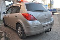 Фаркоп для Nissan Tiida Хэтчбэк/Седан (2007 -) Bosal-VFM 4362-A