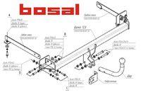 Фаркоп для Chevrolet Aveo Хэтчбэк (2011 -) Bosal-VFM 5265-A