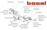 Фаркоп для Kia Sorento (2012 -) Bosal-VFM 6752-A