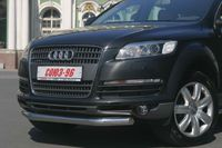 Защита переднего бампера d60 для Audi Q7 (2006 -) AUDQ.48.0336
