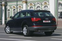 "Защита задняя ""труба"" d60 для Audi Q7 (2006 -) AUDQ.75.0343"
