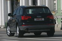 "Защита задняя ""труба"" d42 для Audi Q7 (2006 -) AUDQ.75.0344"