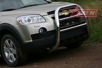 Решетка передняя мини d76 высокая для Chevrolet Captiva (2006 -) CCAP.55.0488