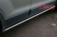"""Пороги """"труба"""" d42 для Chevrolet Captiva (2006 -) CCAP.80.0491"""