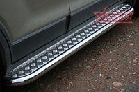 Пороги с листом d60 для Chevrolet Captiva( 2006-) CCAP.82.0492