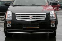 "Защита переднего бампера ""труба"" d60 для Cadillac SRX (2007 -) CDRX.48.0612"