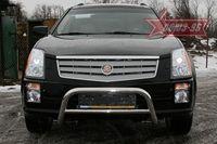 Решётка передняя мини d60 низкая для Cadillac SRX (2007 -) CDRX.56.0611
