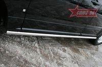 """Пороги """"труба"""" d60 для Cadillac SRX (2007 -) CDRX.80.0613"""