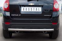Защита заднего бампера d63 (дуга) для Chevrolet Captiva (2012 -) CHCZ-000831