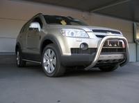 Защита передняя (кенгурин) d76 для Chevrolet Captiva (2006 -) CHEVCAP-03