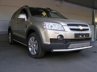 Защита передняя нижняя d60 для Chevrolet Captiva (2006 -) CHEVCAP-04