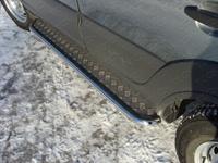 Пороги с площадкой 42,4 мм для Chevrolet Niva (2009 -) CHEVNIV12-03