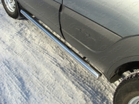 Пороги труба 60,3 мм для Chevrolet Niva (2009 -) CHEVNIV12-04