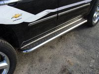 Пороги с площадкой 60,3 мм для Chevrolet Tahoe (2012 -) CHEVTAH12-02