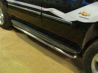 Защита порогов 42,4 мм для Chevrolet Tahoe (2012 -) CHEVTAH12-04