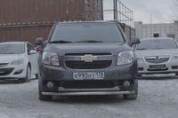 """Защита переднего бампера """"труба"""" d60 Premium для Chevrolet Orlando (2012 -) CHOR.48.1586"""