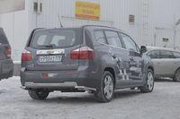 """Защита задняя """"уголки"""" d42 для Chevrolet Orlando (2012 -) CHOR.76.1590"""