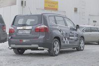 """Защита задняя """"уголки"""" d60 для Chevrolet Orlando (2012 -) CHOR.76.1591"""