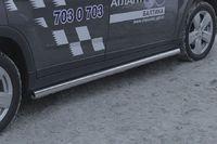 """Пороги """"труба"""" d60 для Chevrolet Orlando (2012 -) CHOR.80.1588"""