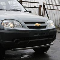 "Защита переднего бампера ""труба"" d60 для Chevrolet Niva (2009 -) CN09.48.0845"