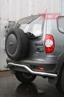 "Защита задняя ""волна"" d60 для Chevrolet Niva (2009 -) CN09.75.0852"