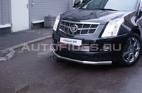 "Защита переднего бампера ""труба"" d76 одинарная для Cadillac SRX (2011 -) CSRX.48.1354"