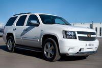 Пороги труба d42 для Chevrolet Tahoe (2012 -) CTHT-000930