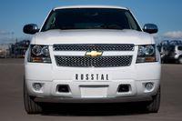 Защита переднего бампера d75x42 для Chevrolet Tahoe (2012 -) CTHZ-000925