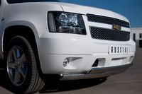 Защита переднего бампера d75х42/75х42 для Chevrolet Tahoe (2012 -) CTHZ-000929