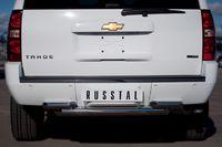 Защита заднего бампера d76/63 для Chevrolet Tahoe (2012 -) CTHZ-000932