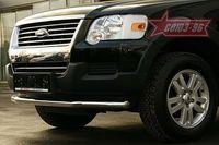 "Защита переднего бампера d60 ""труба"" для Ford Explorer (2006 -) FEXP.48.0388"