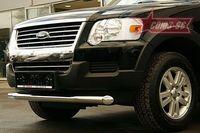 "Защита переднего бампера d76 ""труба"" для Ford Explorer (2006 -) FEXP.48.0389"