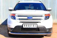 Защита переднего бампера d76 (секции) для Ford Explorer (2012 -) FEZ-001308