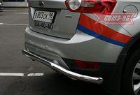 """Защита задняя d60 """"волна"""" для Ford Kuga (2008 -) FKUG.75.0676"""