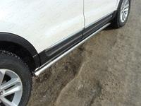 Пороги труба 60,3 мм для Ford Explorer (2012 -) FOREXPL12-06