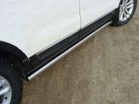 Пороги труба 76,1 мм для Ford Explorer (2012 -) FOREXPL12-07