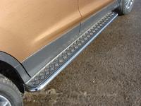Пороги с площадкой 42,4 мм для Ford Kuga (2013 -) FORKUG13-04