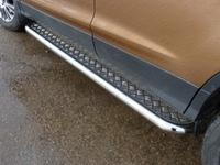 Пороги с площадкой 60,3 мм для Ford Kuga (2013 -) FORKUG13-05