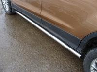Пороги труба 60,3 мм для Ford Kuga (2013 -) FORKUG13-06