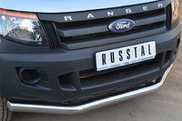 Защита переднего бампера d76 (секции) для Ford Ranger (2012 -) FRZ-001295