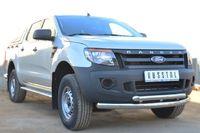 Защита переднего бампера d76 (дуга) d63 (дуга) для Ford Ranger (2012 -) FRZ-001296