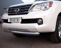 Защита переднего бампера d76 (дуга) для Lexus G(X460 -) GXZ-000801