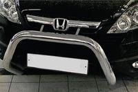 Решетка передняя мини d76 низкая без перемычки для Honda CR-V (2007 -) HCRV.56.0422