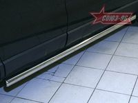 "Пороги ""труба"" d60 для Honda CR-V (2007 -) HCRV.80.0426"