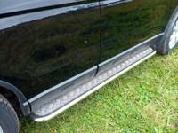 Пороги с площадкой d42,4 для Honda CR-V (2007 -) HONCRV-04