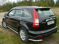 Защита задняя (уголки) d60,3 для Honda CR-V (2007 -) HONCRV-05
