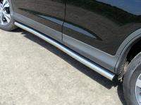 Пороги труба 60,3 мм для Honda CR-V (2012 -) HONCRV13-11