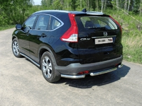 Защита задняя (уголки) 60,3 мм для Honda CR-V (2012 -) HONCRV13-17